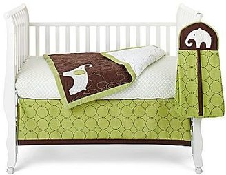 Carter's Green Elephant 4-pc. Baby Bedding