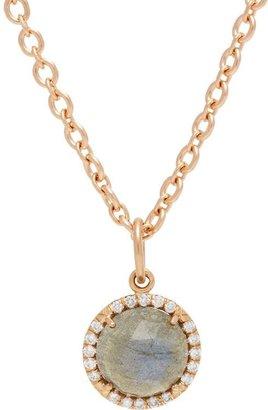 Irene Neuwirth Women's Gemstone Pendant Necklace-Colorless
