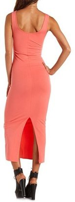 Charlotte Russe Cotton Body-Con Maxi Dress