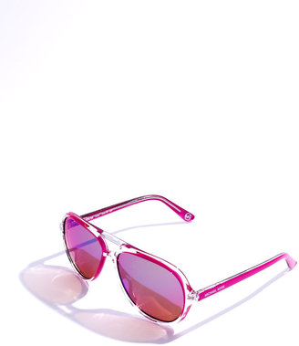 MICHAEL Michael Kors Caicos Sunglasses, Lime or Fuchsia