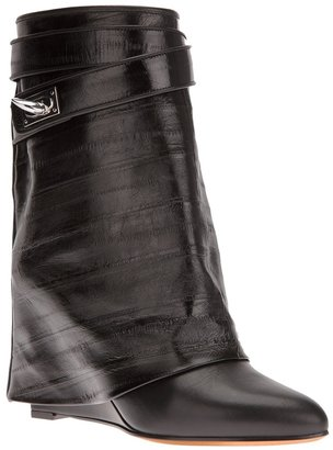 Givenchy 'Sharktooth' fold over boot