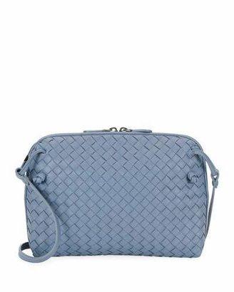 Bottega Veneta Intrecciato Messenger Bag, Black $1,580 thestylecure.com