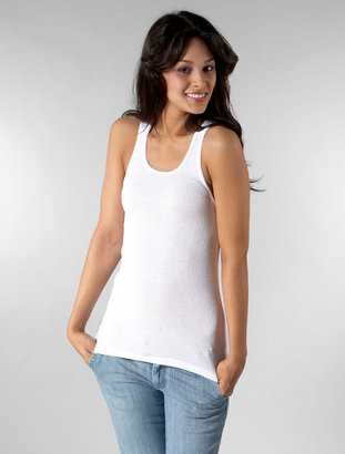 Blue Life Best Tank Ever in White