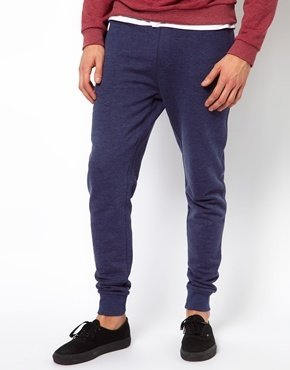 Asos Skinny Sweatpants - Blue