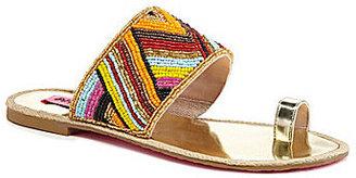 Betsey Johnson Raffi Beaded Sandals