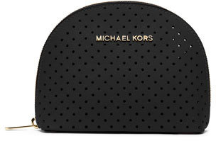MICHAEL Michael Kors Large Jet Set Perforated Cosmetic Case