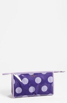 Kate Spade 'le pavillion - medium heddy' cosmetics bag Disco Purple One Size