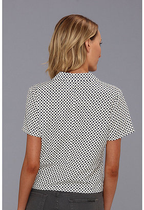 MICHAEL Michael Kors Jive Tie Front Shirt
