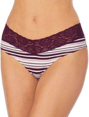 Juniors' Saint Eve V-Lace Hipster Panty 516403