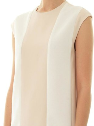 Camilla And Marc Graphic contrast-panel shift dress