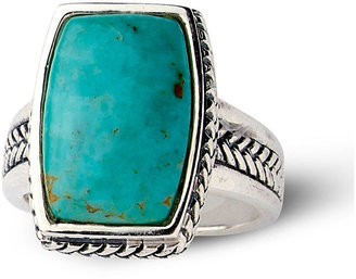 FINE JEWELRY Sterling Silver Genuine Turquoise Ring $145.81 thestylecure.com