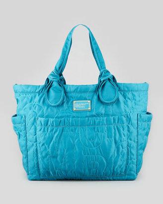 Marc by Marc Jacobs Pretty Nylon Eliz-A-Baby Diaper Bag, Teal