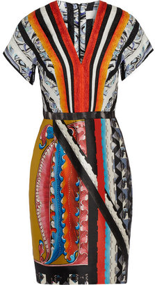 Peter Pilotto Ava printed silk-blend dress