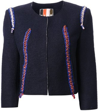 MSGM embellished jacket