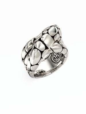 John Hardy Kali Sterling Silver Twist Ring