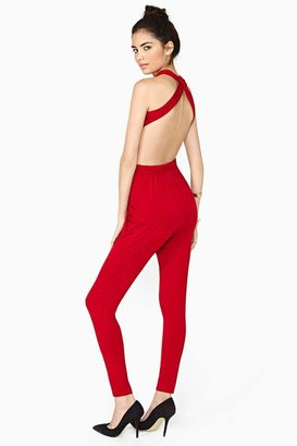 Factory Donna Jumpsuit - Red