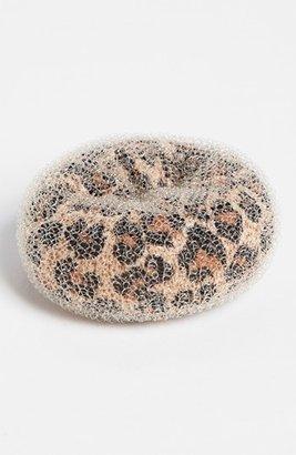 Tasha Leopard Large Bun Shaper