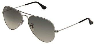 Ray-Ban RB3025 Original Aviator 58mm (Silver Frame/Gray Gradient Lens) Metal Frame Fashion Sunglasses