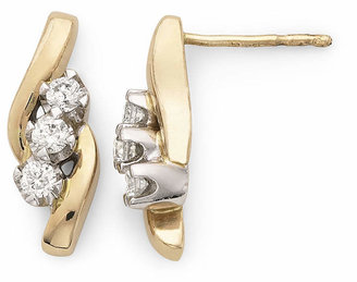 Sirena S CT. T.W. Diamond 14K Yellow Gold Earrings