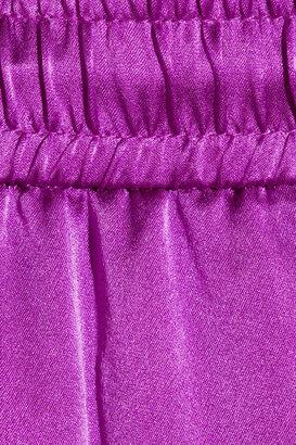 Elizabeth and James Gessler silk-satin pants
