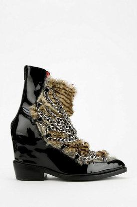 Jeffrey Campbell Cadena Pointy-Toed Hidden Wedge Boot
