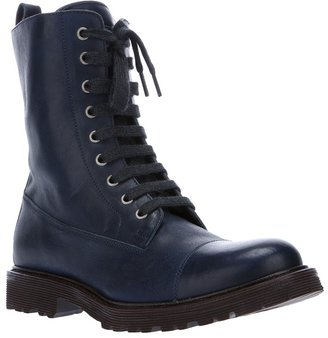 Brunello Cucinelli lace-up boot
