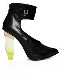 Miista Cristal Ankle Strap Heeled Shoes