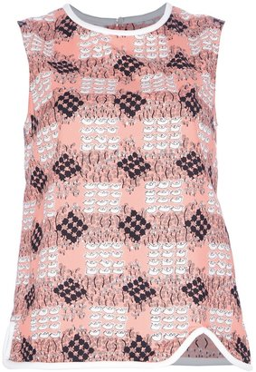 Marni printed vest top