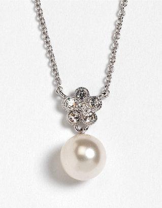 Nadri Faux Pearl Pendant Necklace