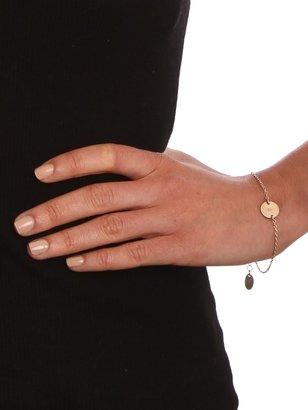 BaubleBar Initial Charm Bracelet
