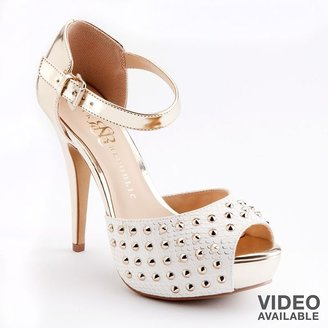 Rock & Republic studded platform high heels - women
