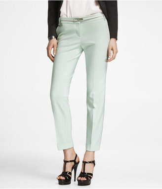 Express Ultimate Double Weave Editor Ankle Pant
