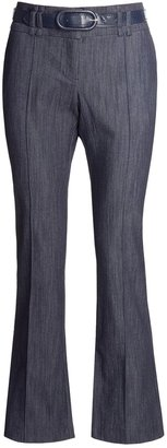 In Moda Belted Dress Pants - Stretch Denim (For Women)