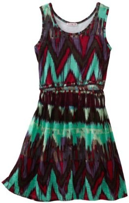 Little Ella Girls 2-6X Native Tank Dress