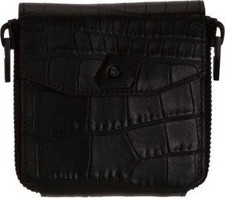 Alexander Wang Croc Trigone Compact Wallet
