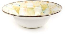 Mackenzie Childs MacKenzie-Childs Parchment Check Breakfast Bowl