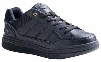 Dickies Men's Athletic Skate Leather Slip Resistant Sneakers - Black