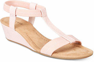 Alfani Women's Voyage Wedge Sandals, Only at Macy's $39.98 thestylecure.com