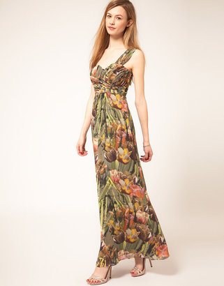 Ted Baker Tulip Print Maxi Dress