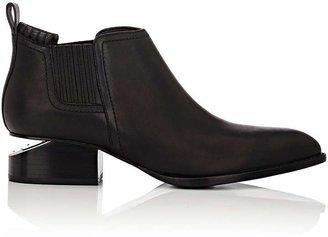 Alexander Wang Women's Metal-Inset Kori Boots-BLACK $495 thestylecure.com