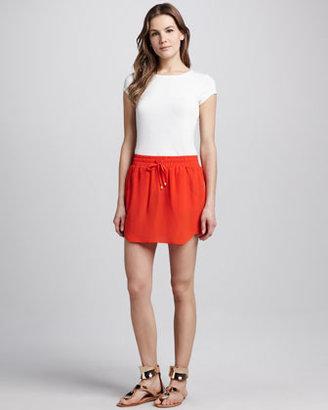 Amanda Uprichard Tribeca Silk Skirt