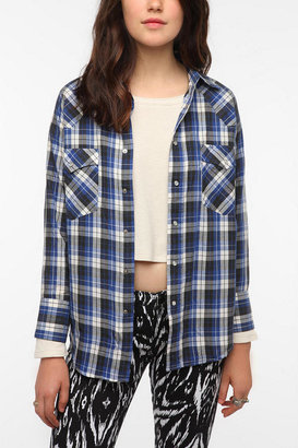 Urban Outfitters Urban Renewal Resized Western Shirt