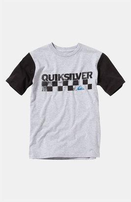 Quiksilver 'Checkers' T-Shirt (Big Boys)