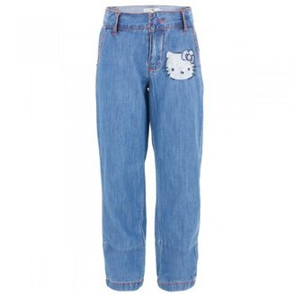 Hello Kitty Victoria Casal Couture sequin Jeans