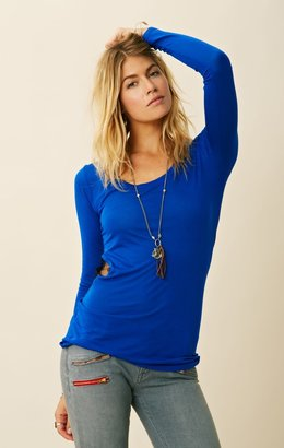 Blue Life MATERIAL GIRL WITH LACE INSERT
