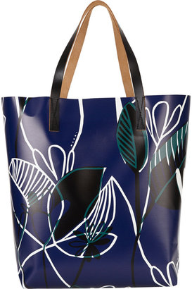 Marni Floral-print Shopper Tote