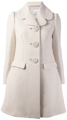 RED Valentino ribbed coat