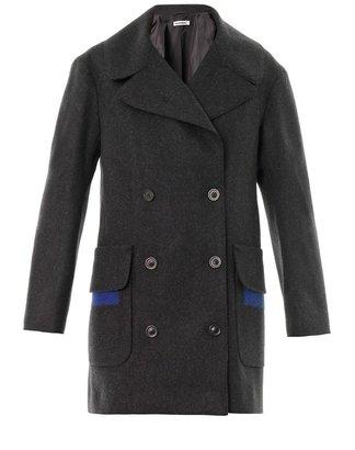 Jil Sander Parigi double-breasted wool coat