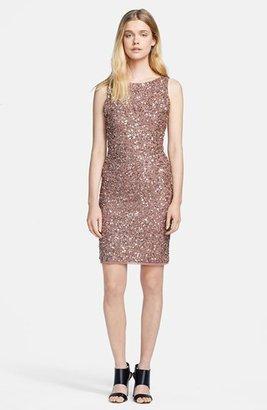 Alice + Olivia 'Kimber' Sleeveless Bead Embellished Dress