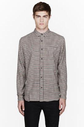 Levi's CLOTHING Cream check 1960s shirt